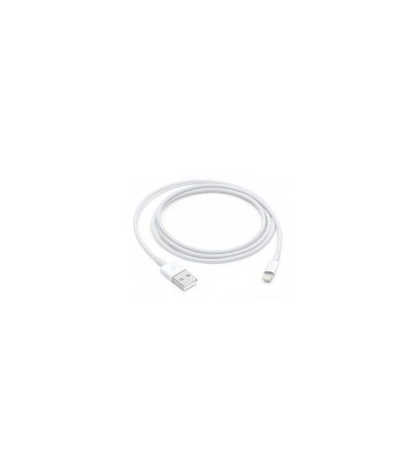 apple cable original apple con caja conector lightning a usb 1 metro v2 1