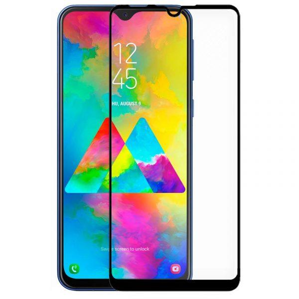 protector pantalla cristal templado cool para samsung m205 galaxy m20 full 3d negro 1
