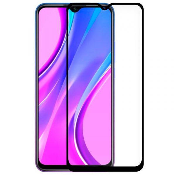 protector pantalla cristal templado xiaomi redmi 9 full 3d negro 1