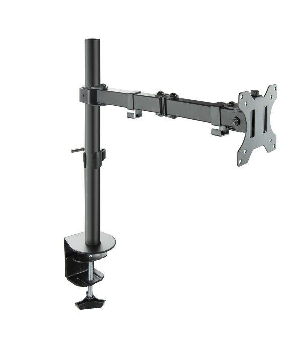 tooq soporte de mesa giratorio e inclinable monitor tv 131 321 de un brazo max 8 kg negro 1